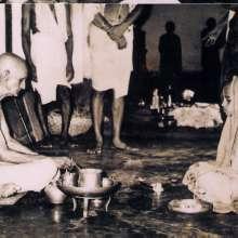 Initiation into monastery